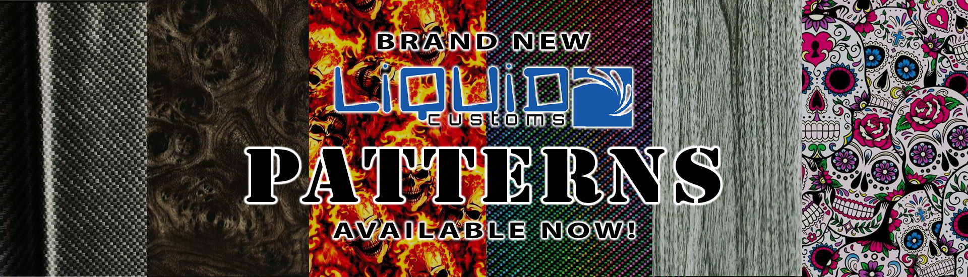 New Hydrographics Patterns / Films Available Now