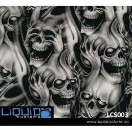 Liquid Customs Hydrographic Patterns For Sale